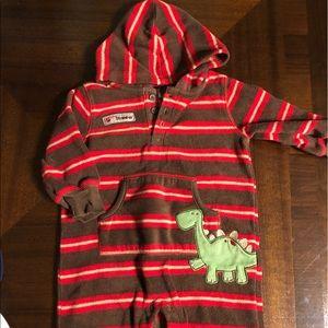 🍼 Carters Full body Baby Boy fleece with hood
